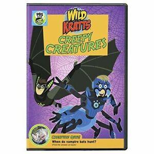 Wild Kratts: Creepy Creatures! [New DVD]