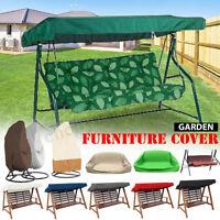 Waterproof Outdoor Lounge Seat Cover Garden Patio Swing Chairs Hammock  -)