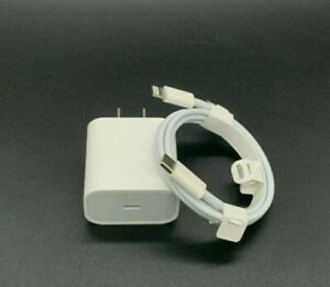 For iPhone 12 / 11Pro Max XS iPad 20W USB-C to Lightning Cable Fast Charger Cord