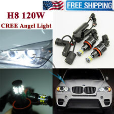 BMW LED Angel Eye Halo H8 E92 120W CREE 750Li 760Li 740Li BMW F01 F02 7-Series