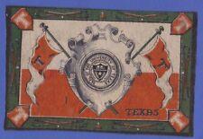 1910s B16 Tobacco Felt University Of Texas seal - golf theme