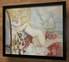 """La chambre-henri lebasque imprimer-Cadre 20 """"x16"""", Art nude poster"""