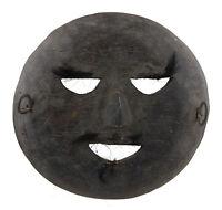 Maschera Tibetano Di Rituale Legno Himalaya-Animista Sciamano Tim Nepal 25280