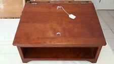 Tom Seely Furniture USA Mobile Portable Lecturn Podium Cherry Wood