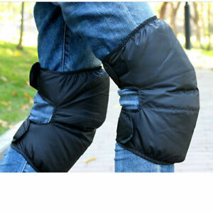 Duck Down Thermal Knee Joints Warmers Flexible Winter Pads Protector Thick NEW