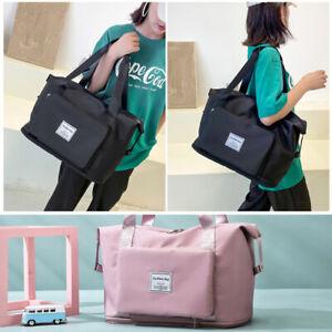 Women Large Capacity Travel Bag Bag for Fitness Shoulder Foldable Workout