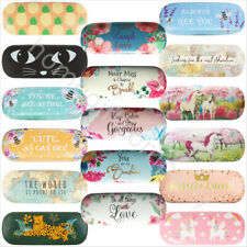 Hard Glasses Cases Spectacle Floral Sunglasses Storage Hard Case Glasses Cases
