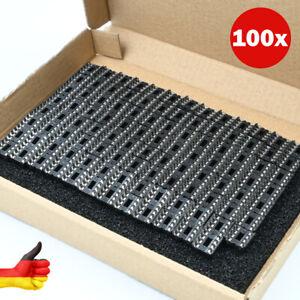 100x IC Sockel DIL8 DIP8 Fassungen Halter 8 Pin RM 2,54 8-poliger IC-Socket TOP!