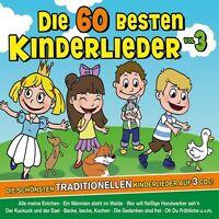 FAMILIE SONNTAG - DIE 60 BESTEN KINDERLIEDER...TRADITIONELLE LIEDER 3 CD NEU