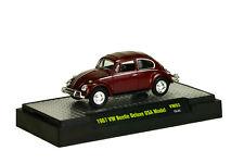 M2 Machines 2015 Auto-Thentics Volkswagen REL VW03 15-51 1967 BEETLE USA Maroon
