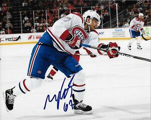 Autographed Montreal Canadiens Max Pacioretty 8x10 Photo #2 Original