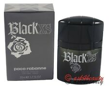 Black Xs By Paco Rabanne 1.7oz EDT Spray For Men New In Box