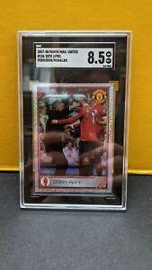 SGC 8.5 Cristiano Ronaldo Alex Ferguson Manchester United Panini 2007 2008 #186