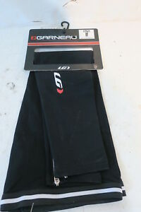 Louis Garneau Adult Zip Leg Warmers 2 Black XL