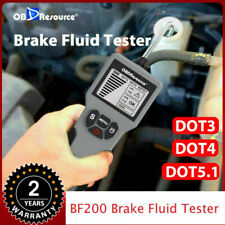 Coche Líquido De Frenos Líquido Probador de aceite herramienta de pruebas de pantalla LCD para DOT3/DOT4/DOT5.1