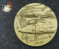 US U.S. Military Army Uh-60 Coin Blackhawk Helicopter Challenge Coin Collection