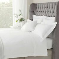 PAIR OF EGYPTIAN COTTON 1000 THREAD COUNT PILLOW CASES WHITE - ALL UK SIZES