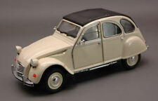 Citroen 2 CV 1982 Cream 1:24 Model 4009CR WELLY