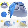 VIVOHOME Portable Outdoor Sun Shade Shelter Beach Tent Cabana Canopy Anti-UV New