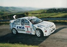 Decals 1/43 Pucci Grossi - Pavesi Ford Escort WRC Rally Costa Romagnola 2000