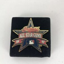 Cleveland Indians 1997 MLB All-Star Game Peter David Lapel Pin