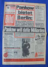 BILD-Zeitung (10.12.1974): Kein Mauerzoll - Pankow will dafür Milliarden