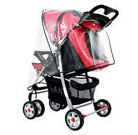 Universal Stroller Weather Shield Rain/Wind Waterproof Cover Fit Baby Stroller