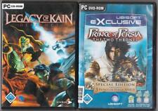 PRINCE OF PERSIA 1+2+3 SANDS & WARRIOR & THRONES + Legacy of Kain Defiance PC