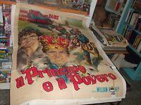 IL PRINCIPE E IL POVERO  manifesto 2F originale 1951