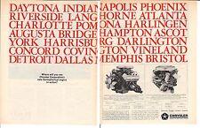 1964 CHRYSLER 426 HEMI ENGINE ~  ORIGINAL 2-PAGE PRINT AD