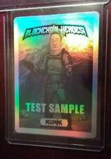 Only 12-Blockchain Heroes Test Sample Trading Card Megamine Base HOLO Crypto