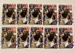 (10) 2021 Topps Series 1 JOEY BART Base Rookie Card Lot (x10) Giants RC #12