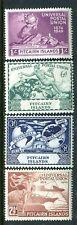 1949 Pitcairn Island 75th Anniversary of Upu - Muh Set of 4 Stamps
