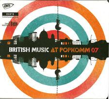 BRITISH MUSIC AT POPKOMM 07 CD PROMO NEW SEALED EVA KATZLER AMIRA JAY SEAN HEIDI