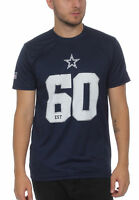 New Era NFL Team Supporters Camiseta Hombre Dallas Cowboys Azul Oscuro