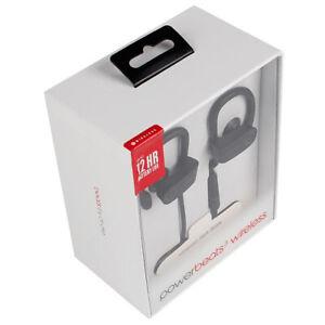 New beats by dr Dre powerbeats3 wireless Bluetooth black sport earphone