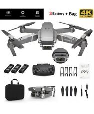 1080P Camera Drone 4K HD E68 FPV Wifi Aircraft Foldable Selfie Quadcopters
