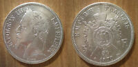 France 5 Francs 1870 Silver Coin Mint A Paris Napoleon 3 King Franc Free Ship Wd