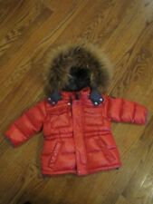 NWT Add down jacket girls boys red puffer 9 months