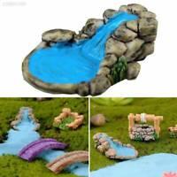 Miniature Fairy Garden Water Well/Stone Landscape Resin Craft Accessories DIY