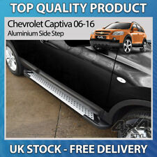 CHEVROLET CAPTIVA 06-16 ALUMINIUM STYLISH DOTTED RUFFORD SIDE STEP RUNNING BOARD