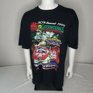 Vintage 90's MAC Tools Gatornationals 1999 Drag Racing T Shirt XL