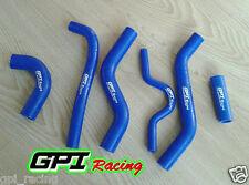 KAWASAKI KXF250 KXF 250 KX 250 F 2007 2008 07 08 Y silicone radiator hose BLUE