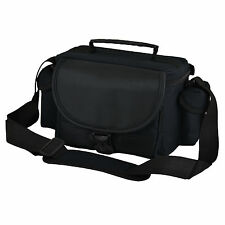ALX Black Camera Shoulder Bag Case For DSLR Camera or Large Bridge Camera
