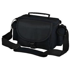 ALX Black Camera Shoulder Bag Case For DSLR Camera or Large Bridge Camera