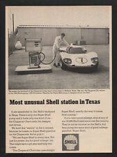 1966 SUPER SHELL Pump Station - CHEVROLET CHAPARRAL D2 Race Car - JIM HALL - AD