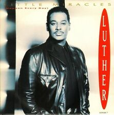 "LUTHER VANDROSS little miracles/i'm gonna start today 59044 7 epic 7"" PS EX/EX"