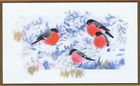 Frosty Morning Birds Counted Cross Stitch Kit Riolis R1388