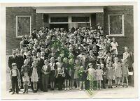 "Vintage Photo - Longmont, Colorado - Sunday School Group of People 5"" x 7"""