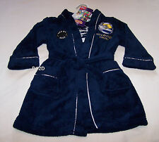 Geelong Cats AFL Boys Navy Blue Fleece Dressing Gown Size 4 New